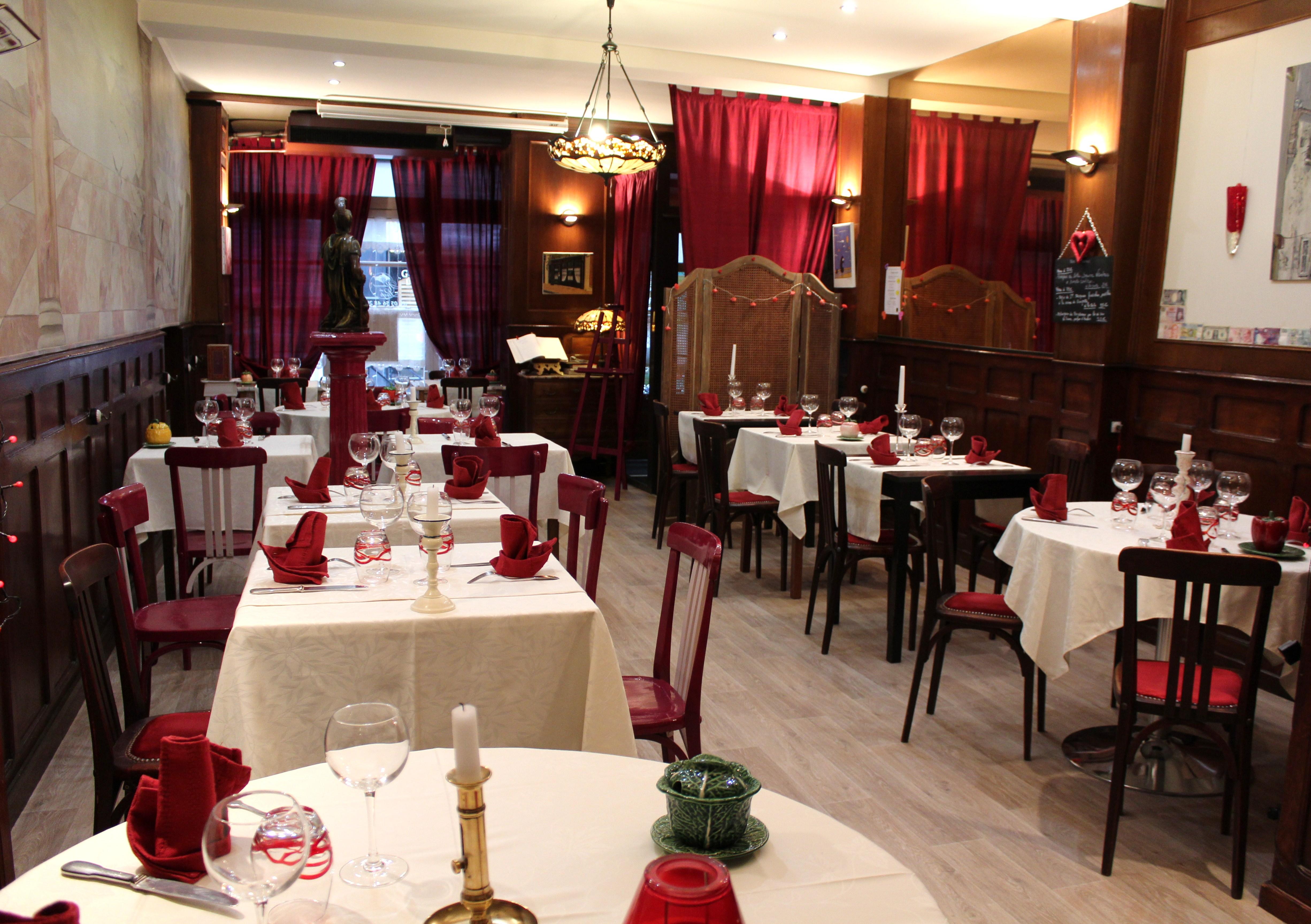 La salle restaurant du loup for Resto lasalle